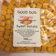 DOG REWARDS Sweet Potato- 100 pack (Veggie Patch)