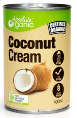 Absolute Organic Coconut Cream- 400g