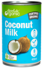 Absolute Organic Coconut Milk- 400g