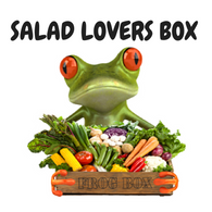 *Option 5*   Salad Lovers FROG Box *With Local CF Herbs  & Greens*