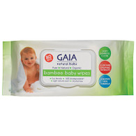 Bamboo Baby Wipes- 80 pack