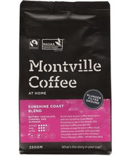 Coffee for Plunger- Montville Organic - 250g
