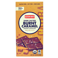 Chocolate Dark Salted Burnt Caramel - 80g