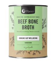 Bone Broth Powder BEEF- 125g Garden Herb