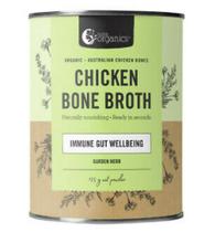 Bone Broth Powder CHICKEN- 125g Garden Herb