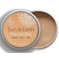 Sun & Earth Natural Zinc (Tan) SPF 30+ *NEW*