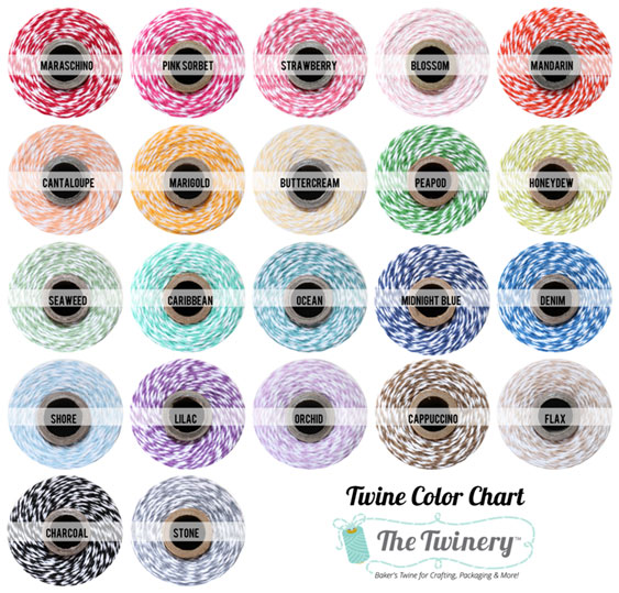Bakers Twine Color Chart