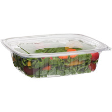 Rectangular Deli Container w/Lid - 24oz