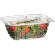 Rectangular Deli Container w/Lid - 32oz