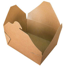 Brown Kraft Take Out Food Container #8