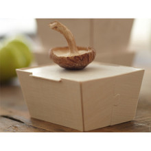 "Petite Wooden Box With Lid 3"" x 4"""
