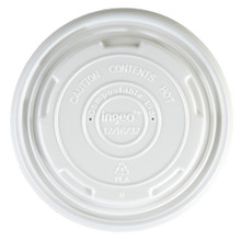 Compostable Lid for 12->32 oz Besics Containers