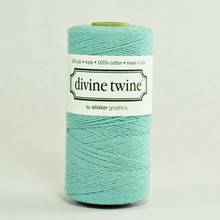 Teal Solid Divine Twine