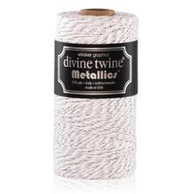 Metallic Silver Divine Twine