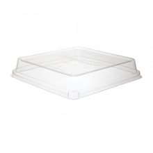 Sugarcane Take-Out Container Lids for 9 inch Square