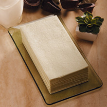 Linen-Like Natural Guest Towels