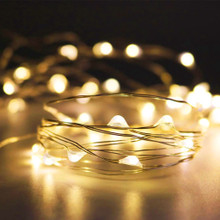 Fairy Lights 9.5ft, 30 Warm White LEDs with AA Pack