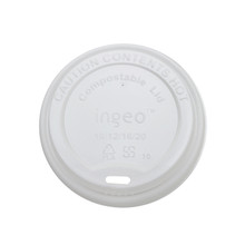 Compostable Hot Cup Lids - 8oz