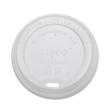 Compostable Hot Cup Lids - 10-20oz