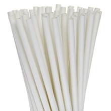 """White 10.5"""" Paper Straws"""