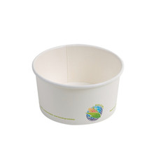 White Soup/ Ice Cream Container - 6oz
