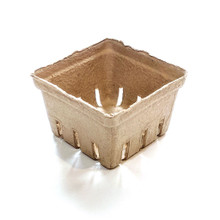 1 Pint Paper Molded Berry / Produce Basket