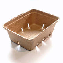 1.5 Quart Paper Molded Berry / Produce Basket