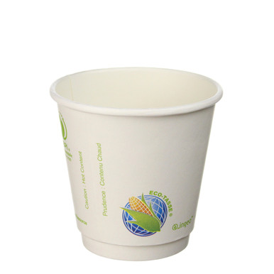 Insulated 8oz Biodegradable Hot Cups