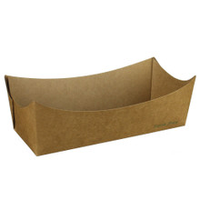 Kraft Paper Hot Dog Tray