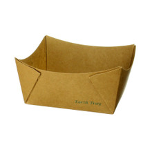 #1 Kraft Paper Tray - Uncoated
