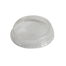 Semi Dome Lid with Hole for 76mm Cold Cups
