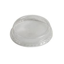 Semi Dome Lid Without Hole for 76mm Cold Cups