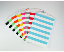 Horizontal Striped Bitty Bags