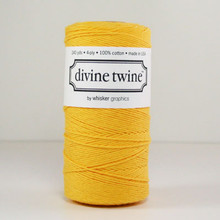 Yellow Solid Divine Twine