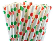Christmas Paper Straws
