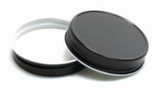 Plastisol Mason Jar Lid - Black