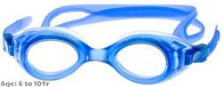 S7 Kids Prescription Swim Goggles Shown with Clear Lenses
