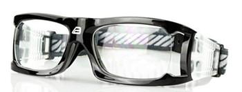 (1) Adult Prescription Sports Goggles BL021 Black 140mm Frame Width