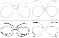 (1) Ski Goggles Prescription Inserts or Adaptors 3 Different Types Available