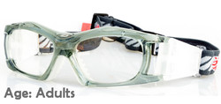 Adult Prescription Sports Goggles BL023 Gray/White