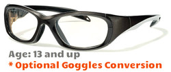 Rec Specs F8 Morpheus II Prescription Sports Glasses Shiny Gray
