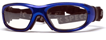(1) Rec Specs Maxx 21 Prescription Sports Goggles in Bright Blue 51 Eye Size