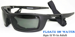 Fuglies RX04 Sunglasses shown with grey tinted demo lenses.