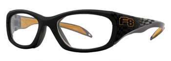 (1) Rec Specs F8 Street Series Raceway Prescription Sports Glasses in 51 and 53 Eye Sizes