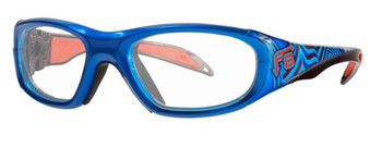 (1) Rec Specs F8 Street Series Electric Wave Prescription Sports Glasses Available in 48  51 and 53 Eye Sizes