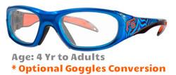 Rec Specs F8 Street Series Electric Wave Sports Glasses