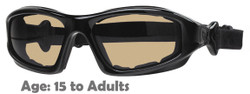 Liberty Sport TORQUE II Shiny Black Rx-Able Motorcycle Sunglasses