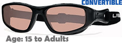 Liberty Sport TRAILBLAZER II Translucent Black Rx-able Sunglasses - Suitable for Ages 15 to Adults