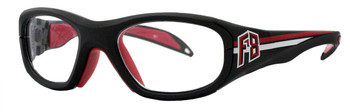 (1) Rec Specs F8 Collegiate Rxable Sports Goggles 51 and 53 Eye Size