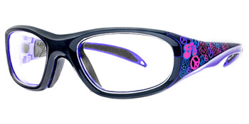 (1) Rec Specs F8 Street Series Peace & Luv Prescription Sports Glasses Eye Size 48 51 and 53
